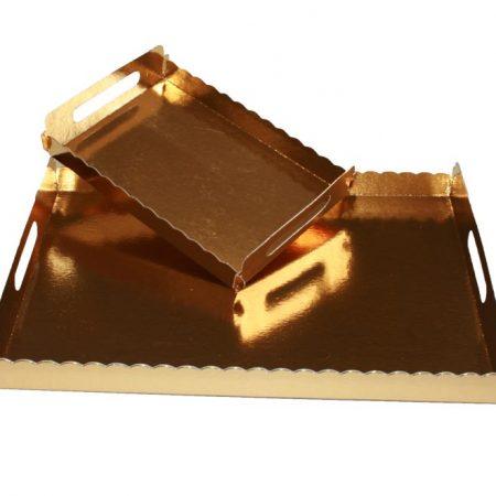 Embalajes Pastor | Envases Pastelería - Bandejas Batea Oro