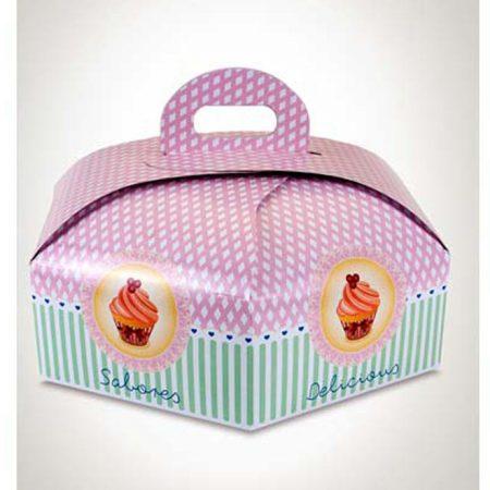 Embalajes Pastor | Envases Pastelería - Caja Hexagonal