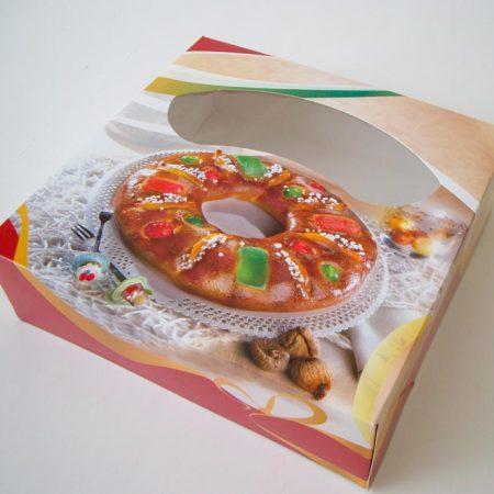 Embalajes Pastor | Envases Pastelería - Caja Roscones