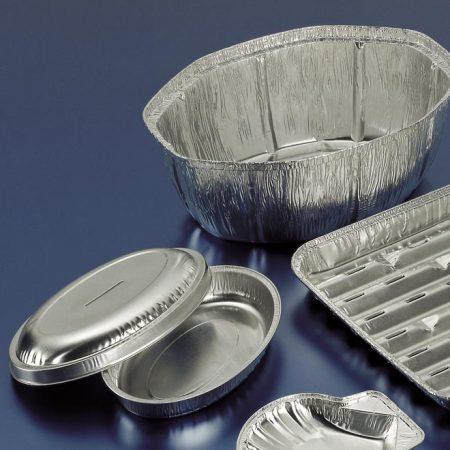 Embalajes Pastor | Envases Aluminio - Con Tapa - Ovalados