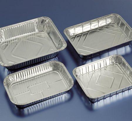 Embalajes Pastor | Envases Aluminio - Con Tapa - Rectangulares