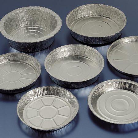Embalajes Pastor | Envases Aluminio - Con Tapa - Redondos