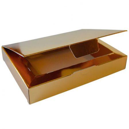 Embalajes Pastor | Envases Pastelería - Caja Metalizada Oro Yemas
