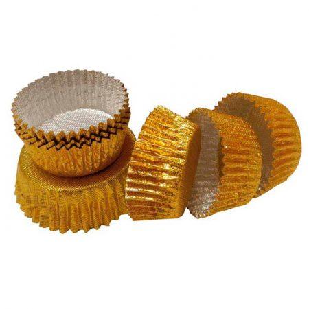 Embalajes Pastor | Envases Pastelería - Cápsulas Uso Repostería Metal Oro